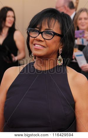 LOS ANGELES - JAN 30:  Cheryl Boone Isaacs at the 22nd Screen Actors Guild Awards at the Shrine Auditorium on January 30, 2016 in Los Angeles, CA