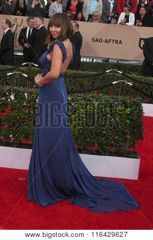 LOS ANGELES - JAN 30:  Jackie Cruz at the 22nd Screen Actors Guild Awards at the Shrine Auditorium on January 30, 2016 in Los Angeles, CA