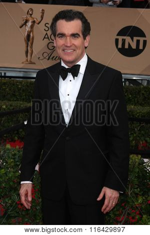 LOS ANGELES - JAN 30:  Brian d'Arcy at the 22nd Screen Actors Guild Awards at the Shrine Auditorium on January 30, 2016 in Los Angeles, CA