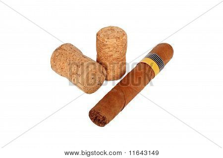 Cigar And Wine Corks
