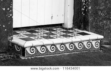 Ceramic Door Step