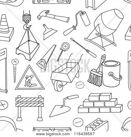 Doodle pattern construction