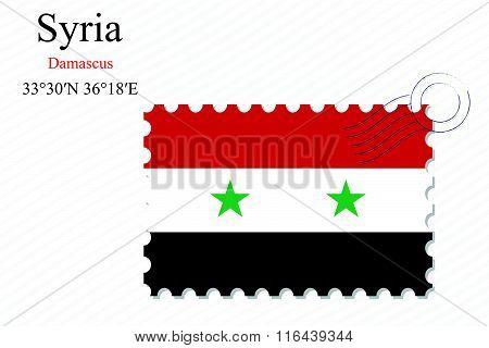 Syria Stamp Design