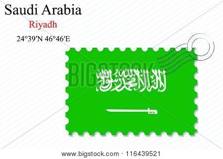 Saudi Arabia Stamp Design