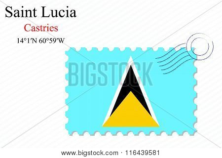 Saint Lucia Stamp Design