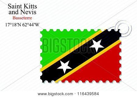 Saint Kitts And Nevis Stamp Design