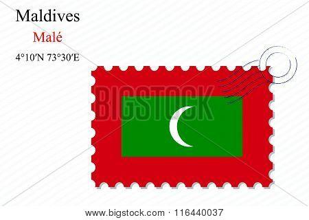 Maldives Stamp Design