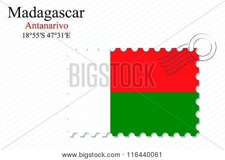 Madagascar Stamp Design