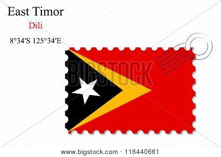 East Timor Stamp Design