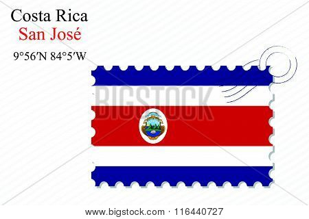Costa Rica Stamp Design