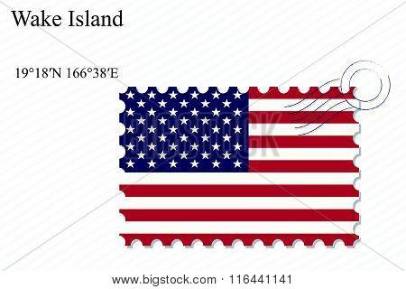 Wake Island Stamp Design
