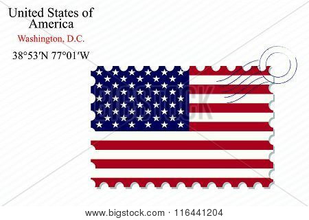 United States Of America Stamp Design