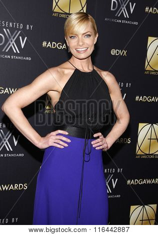 Jaime Pressly at the 20th Annual Art Directors Guild Excellence In Production Design Awards held at the Beverly Hilton Hotel in Beverly Hills, USA on January 31, 2016.