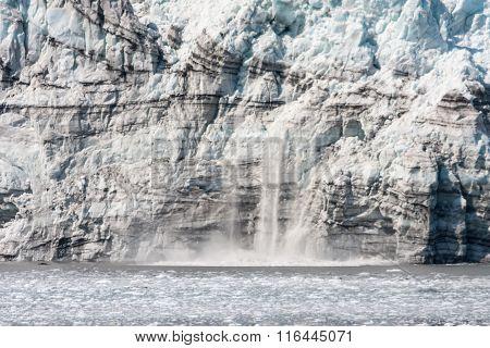 Calving Glacial Ice