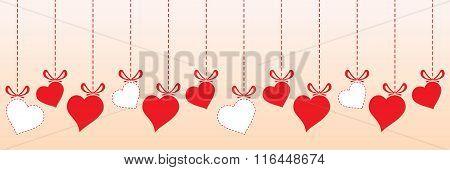 Valentine Heart - border design