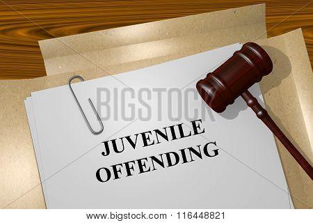 Juvenile Offending Concept