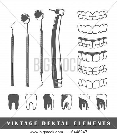 Set Of Elements Of The Dentist
