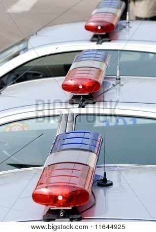 Road Police Flashers