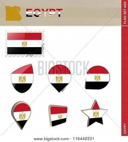 Egypt Flag Set, Flag Set #54