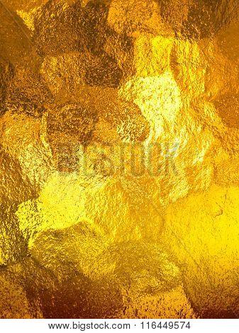 gold glass texture