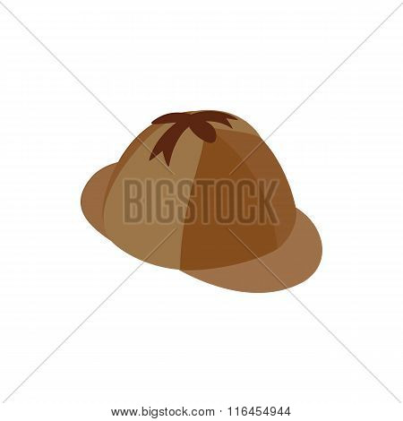 Hunting hat isometric 3d icon