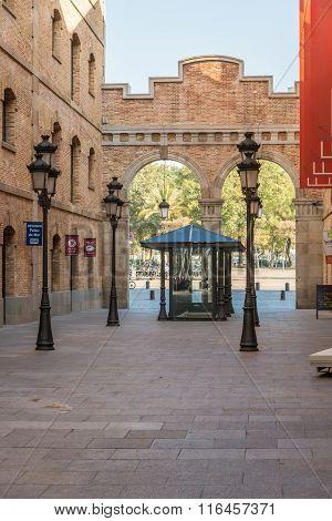 Barceloneta. Building of the Museu de Historia de Catalunya