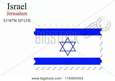 Israel Stamp Design