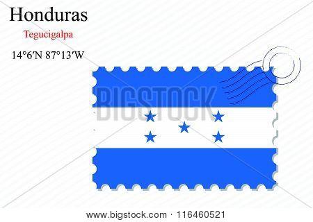 Honduras Stamp Design