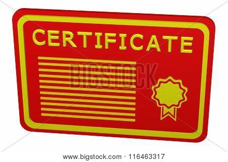 Concept: Certificate