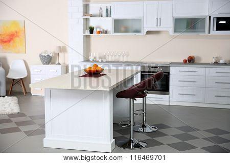 Luxury kitchen interior