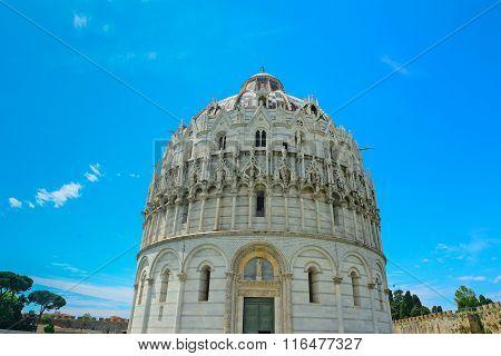 San Giovanni Baptistery In Pisa