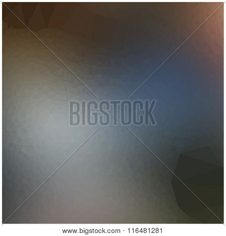Illustration Vector Triangle Abstract Background With Beautiful Shade.
