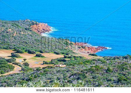 Red Rocks In Costa Smeralda