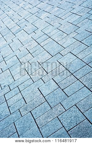 Stone Pavement Detail, Architectural Element
