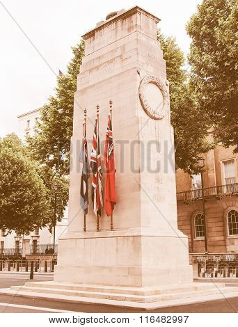 The Cenotaph, London Vintage