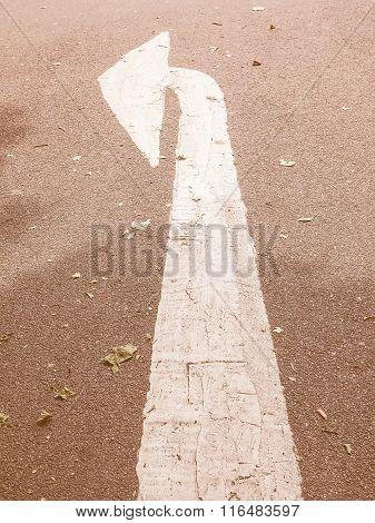 Arrow Sign Vintage