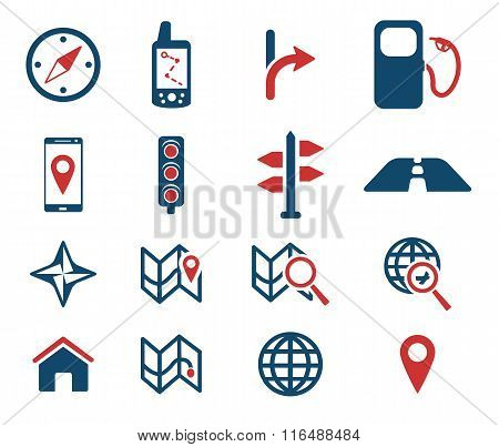 Navigation simply icons