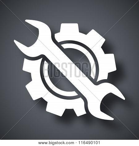 Service Icon, Vector