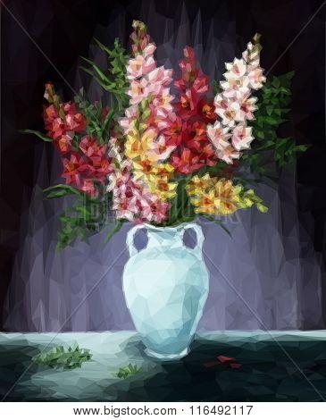 Freesia Flowers Vector