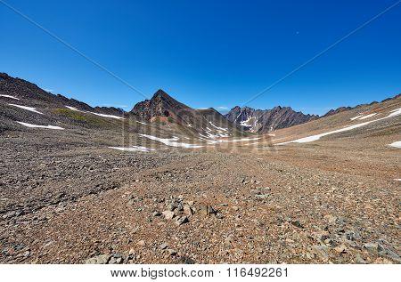 Stone Desert High Plateau In Eastern Siberia