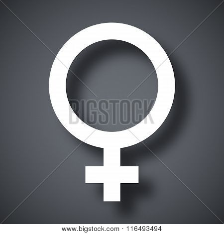 Vector Female Sex Symbol