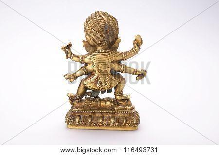 Buddhist Figure With Patina
