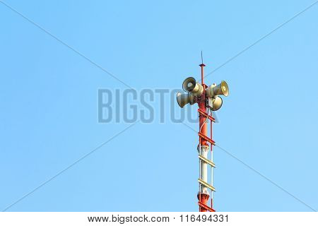 Tower Signal Warning Speaker