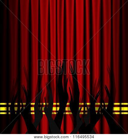 abstract theatre applouse