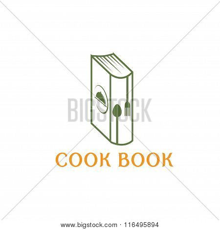 Cook Book Vector Design Template