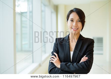 Businesswoman at office