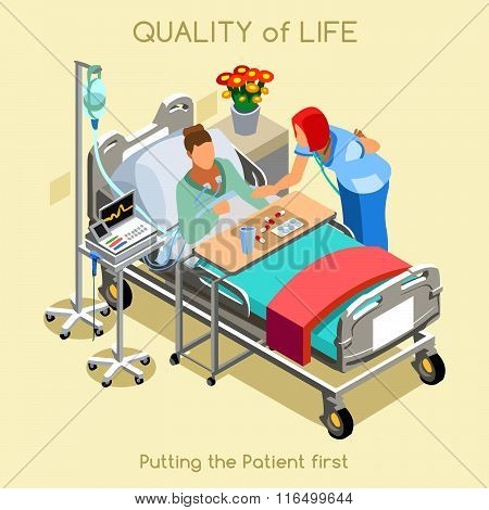 Patient Visit 02 People Isometric