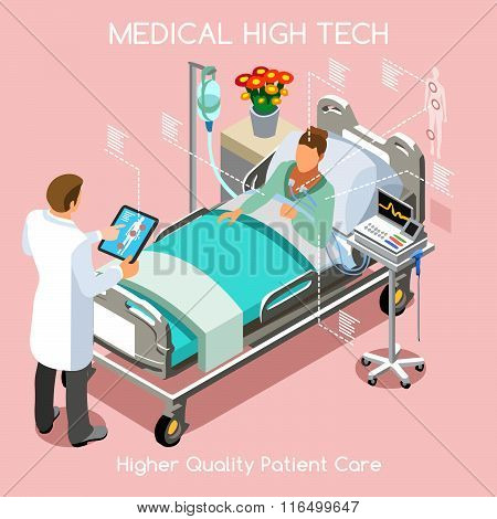 Patient Visit 03 People Isometric