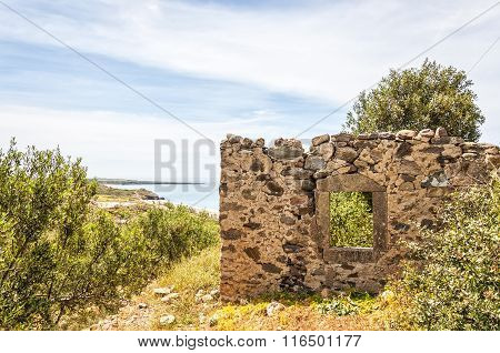 Ruined House On Crete