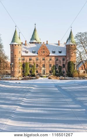 Trolleholm Castle In Winter